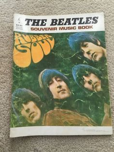 The Beatles Souvenir Music Book Rubber Soul