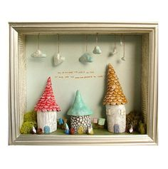 Shadowbox - I must make one of these!
