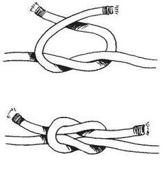 Afbeeldingsresultaat voor touw knopen