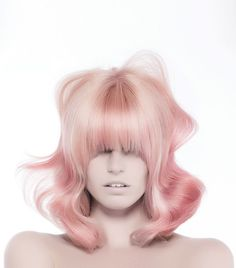 Beauty Is.Free a look from the L'ANZA 2016 Spring/Summer collection! Casual Hairstyles, Creative Hairstyles, Blonde Hairstyles, Layered Hairstyles, Braided Hairstyles, Medium Hair Styles, Curly Hair Styles, Bob Hair Color, Creative Hair Color