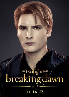 Dr. Carlisle Cullen   Cullen Coven  Date of Birth: circa 1640  Date of Transformation: 1663    ...See More