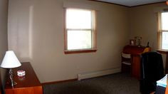 2nd bedroom is currently used as an office but it's large enough to hold a king sized bed.