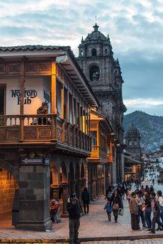 Centro Historico in Cusco, Peru | heneedsfood