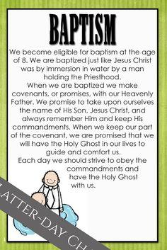 Latter-Day Chatter: I am a Mormon: Baptism Mormon Baptism, Baptism Talk, When I Am Baptized, Getting Baptized, Baptism Quotes, Baptism Ideas, Baptism Gifts, Baptismal Covenants, Lds Talks