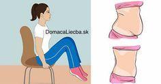 Chcete si stiahnuť a vyformovať brucho, no nemáte čas ísť do telocvične? Nevadí, týchto 5 stoličkových cvikov môžete cvičiť vždy a všade.