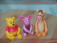 """How to make Pooh and friends - This site has a gazallion """"how-to"""" tutorials. The site is in Russian, but click around and you'll find some neat stuff. Almost all the """"tutorials"""" are photos and easily followed without worrying about not knowing the language."""