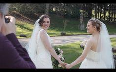 Rose Ellen Dix and Rosie Spaughton  WEDDING DAY video