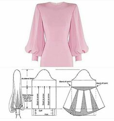 Source by liveintrier sewing patterns # Dress Patterns A Line Sundress Pattern, Shift Dress Pattern, Evening Dress Patterns, Baby Dress Patterns, Skirt Patterns, Mode Instagram, Sewing Sleeves, Skirt Sewing, Fabric Sewing