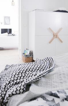 BoConcept dresser in an incredibly cosy Finnish family home (click for full tour). No home without you.