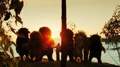 Bull, KW, Ira, Max, Carol, Douglas, Alexander & Judith howling in the Wild Rumpus.