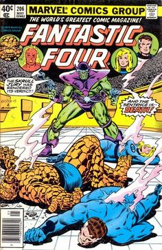 Cover for Fantastic Four May 1979 #206