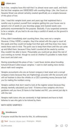 Vampire Novel Ideas