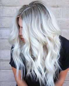 "8,678 Likes, 81 Comments - behindthechair.com (@behindthechair_com) on Instagram: ""* Clear Blonde ... by #btconeshot17 WINNER @maggiemh  ・・・ #behindthechair #platinumblonde…"""