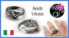 Tutorial Wire   Anello Weave in acciaio inox   in collaborazione con Per...