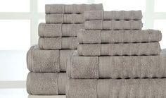 Groupon - Zero-Twist Luxurious Super-Absorbent Towel Set (12-Piece). Groupon deal price: $49.99
