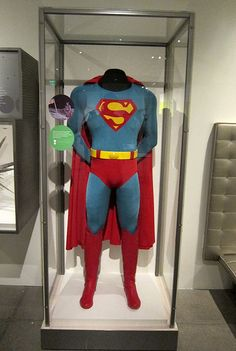 """Superman Costume"" Taken at the Science Fiction Exhibit at the EMP Museum in Seattle, Washington. It is absolutely amazing!!!!"