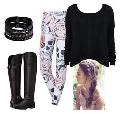 Sugar Skull by sydneywalker322 on Polyvore featuring polyvore, fashion, style, Alice + Olivia, Naturalizer, Replay and clothing
