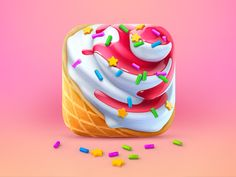 IceCream app icon ★ Find more at http://www.pinterest.com/competing/