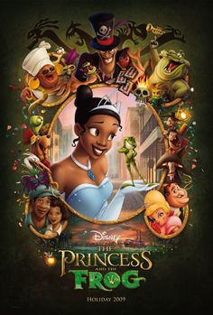 Princess and the Frog. i just love this movie