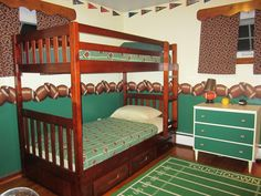 18 Best Boy S Football Room Images Boys Football Room