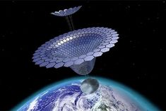 The Next Space Race: Farming Solar Power in the Cosmos Scientists are making the big push to send electricity to Earthlings from the final frontier Renewable Energy News, Solar Energy Projects, Space Race, The Final Frontier, Energy Storage, Solar Power, Cosmos, Decorative Bowls, Farming