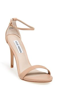 Free shipping and returns on Steve Madden 'Stecy' Sandal at Nordstrom.com. A slim ankle strap lends a dash of on-trend elegance to a clean, simplified high-heel sandal.