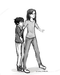 Bianca and Nico Di Angelo - Oh, look, there went my heart.....