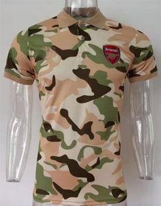 2017 Cheap Polo Jersey Arsenal Replica Sandybrown Shirt [AFC708]