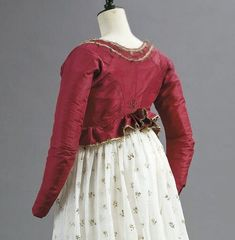 Spencer (short jacket), c. 1790's.