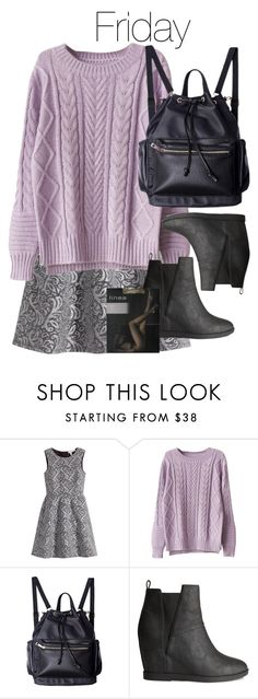 """""""The Originals - Davina Claire Inspired School Week Outfits - Friday"""" by staystronng ❤ liked on Polyvore featuring H&M"""