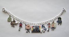 The Regular Show Charm Braclet Pops Mordecai by Murals4U on Etsy, $17.99