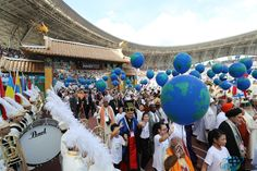 A Global Peace Festival with 000 People from 30 Countries was held in Republic of Korea Religion World Countries, Hold On, Religion, Korea, Peace, Naruto Sad, Korean, Sobriety, World