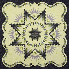 Glacier Star ~ Quiltworx.com, made by CI Mary Wakeley