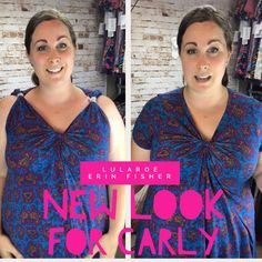 Lularoe Carly dress hack - Summer look style Checkout my how to video!