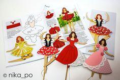 балерины - дергунчики