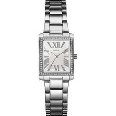 Ladies Watches - Guess Mini Haven Ladies Watch - 3d Tattoos, Metal Bracelets, Square Watch, Michael Kors Watch, Rolex Watches, Quartz, Rose Gold, Stainless Steel, Lady