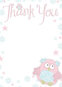 "Free printable ""Thank You"" paper"