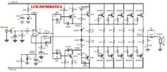 Circuit design of stereo audio amplifier using inexpensive transistor and Part list and PCB design layout and power supply provided. Hifi Amplifier, Class D Amplifier, Electrical Engineering Books, Electronic Circuit Design, Circuit Board Design, Electrical Circuit Diagram, Ab Circuit, Electronics Basics, Electronics Projects