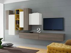 Italian Wall Unit Exential Y45 by Spar - $4,785.00