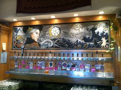 southern sun brewery tap wall