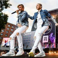 My 2 favorite boys from Norway ❤😆 New Music, Good Music, Instagram 2017, Dream Boyfriend, I Go Crazy, Star Wars, My True Love, My Boo, Bambam