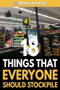 There are countless ordinary items that are relatively cheap and can be used for survival. The wisest among us are already stockpiling them.