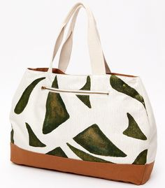 Jackmal Tote from Himane Sustainable Designs , upcycled umbrella fabric