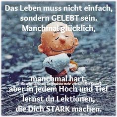 Make it strong for what? Grit And Grace, My Bubbles, Sister Quotes, Positive And Negative, German Language, Loneliness, Stark, Positivity, Humor