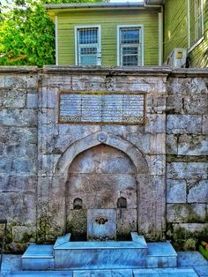 osmanağa çeşmesi - fountain / kadıköy / istanbul / turkey / photo by koto serdar bulgu Holiday Photography, Photography Photos, Istanbul, Stone Fountains, Holiday Travel, Empire, Turkey, Hat, Mansions