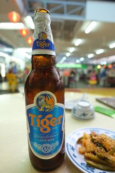Tiger Beer in Singapore