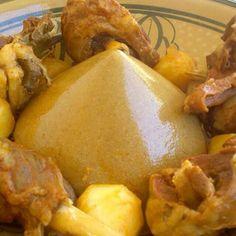 Bazeen، Libyan traditional eaters.
