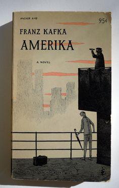 Kafka's Amerika, designed by Edward Gorey