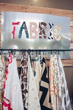Lots of pretty fabric available at Eco Chic in #Fargo #NorthDakota
