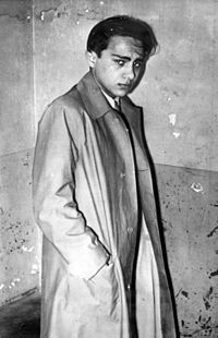 Herschel Feibel Grynszpan (March 28, 1921 — declared dead 1960) was a Polish Jew and political assassin. Grynszpan's assassination of the German diplomat Ernst vom Rath on November 7, 1938, after the deportation of his family, provided the excuse for the Nazi Kristallnacht, the antisemitic pogrom of November 9–10, 1938. Grynszpan was seized by the Gestapo after the German invasion of France and brought to Germany.